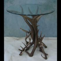 Elk Antler Round Table