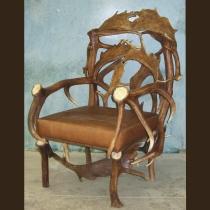 Elk & Fallow Deer Antler Chair