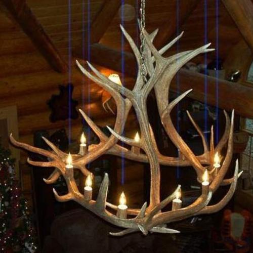 Hidalgo elk antler chandelier 6 antler 12 light hidalgo elk antler chandelier 6 antler 12 light aloadofball Images